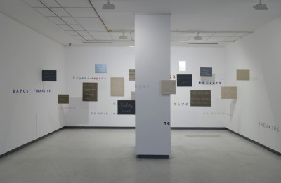 Image from the installation Life-Love-Memory. Photo credits Aurora Király