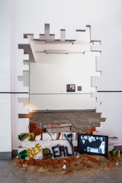 Vedere din expoziție. Credite foto Dan Iordache și Mihai Șovăială.