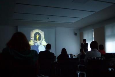 Travel Guide, Artist Talk Matei Bejenaru. Credite foto ICR Berlin.