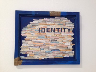 Identity it's not a number, detail. Photo Credits Nicoleta Papp.